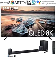$4695 Get Samsung QN65Q900RB 65-inch Q900 QLED Smart 8K UHD TV (2019 Model) Bundle with Samsung 510W 7.1.4-Channel Soundbar System with Wireless Subwoofer with Instant $600 Saving