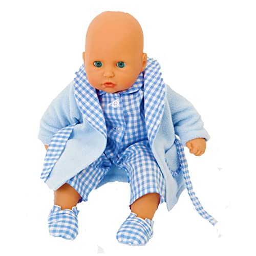 0ba7d68481f3 BLUE NIGHTIME SET FOR 12-14 INCH 30-35 CM  BABY DOLL