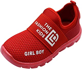 キッズ 運動靴 ベビー 靴 レター メッシュ スニーカー 男女兼用 子供靴 軽量 通気性抜群 男の子 女の子 スポーツシューズ 幼児用 七五三 通園 通学 運動会 誕生日 こどもの日 プレゼント 安い 滑り止め ランニングシューズ