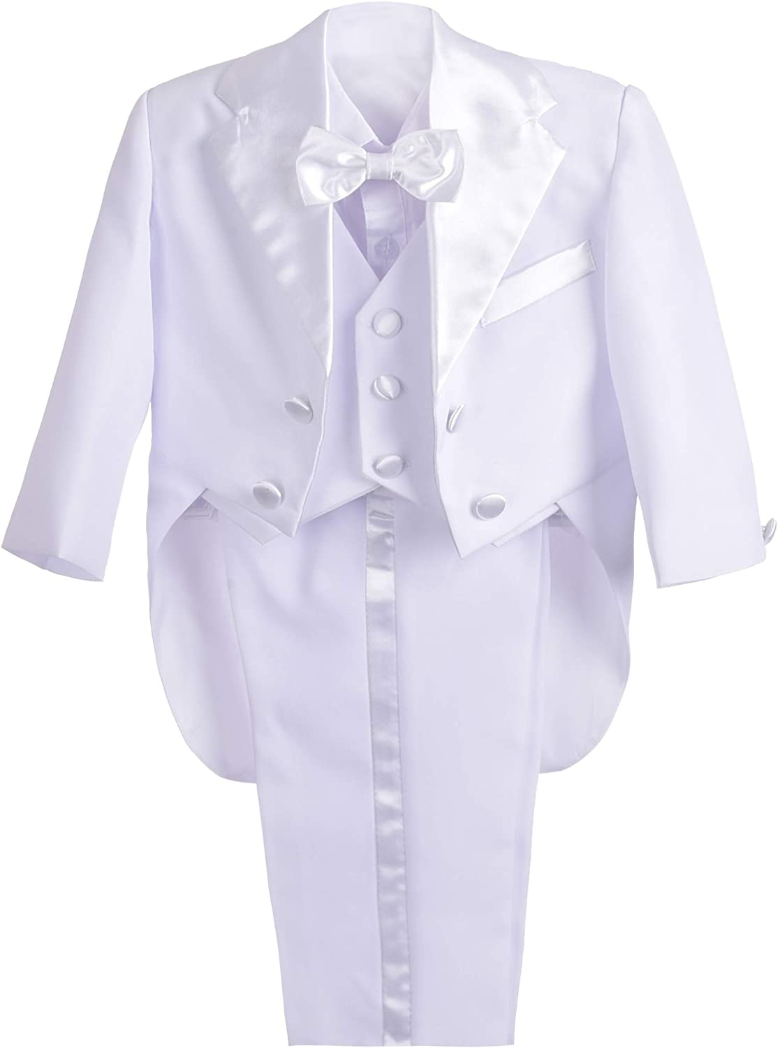Lito Angels Baby Boys' Classic Wedding Selling and selling Outfits Tuxedo with Tail At the price