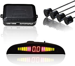 Hengda® Aparcamiento Sensor,Asistente de Aparcamiento Revertir Sensor con Visualizador con Sonido y 4
