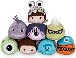 Disney - Monsters, Inc. Mini ''Tsum Tsum'' Plush Collection - Set of 8