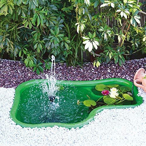 Giardini d'acqua Ledro Laghetto da Giardino, Verde, 120 x 80 x 42