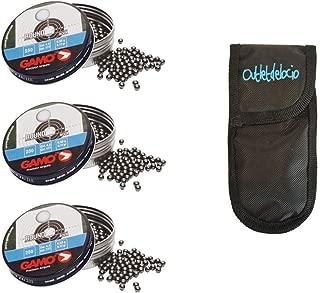 Outletdelocio + Funda portabalines 3-63762 3 latas de 250 perdigones Gamo Hunter de Copa-Bola 5,5mm