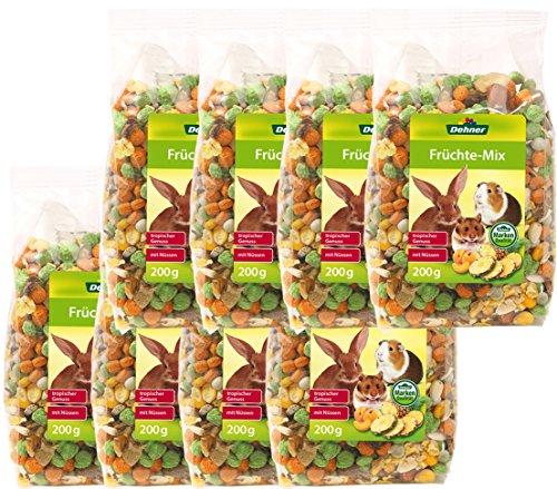 Dehner Nagersnack, Früchte-Mix, 8 x 200 g (1.6 kg)
