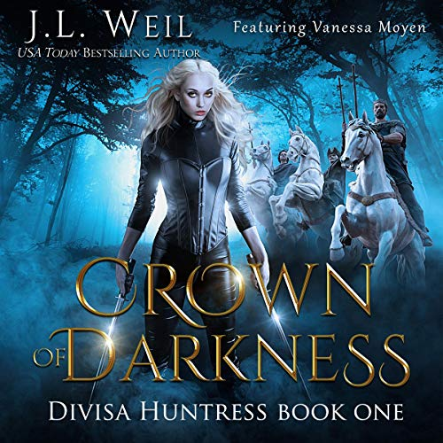Crown of Darkness Audiobook By J.L. Weil cover art
