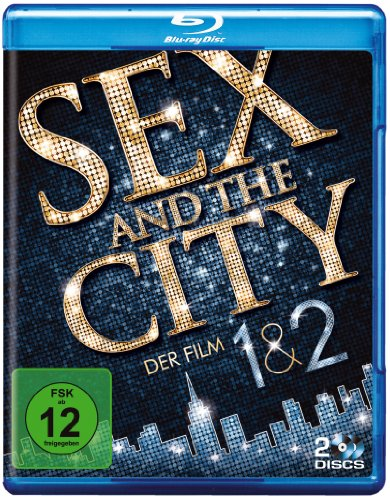 Sex and the City 1 & 2 [Blu-ray]