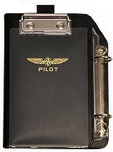DESIGN 4 PILOTS Aviation Professional Pilot kneeboard, Reduced Size for cramped cockpits, ifr vfr