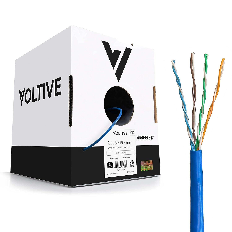 Voltive Cat 5e Plenum price cheap Ethernet Cable C Oxygen-Free UTP - CMP