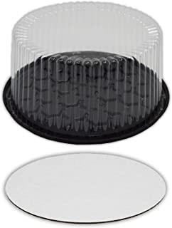 Best tall plastic cake containers Reviews