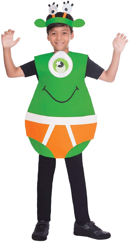 Fancy Me Disfraz de Alien In Pants Space Martian para niños y ...
