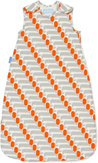 The Gro Company Grobag 0.5 Tog Sausage Dog Orla Kiely Sleeping Bag for 6-18 Months Baby