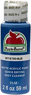Apple Barrel Acrylic Paint in Assorted Colors (2 oz), 20771, Too Blue