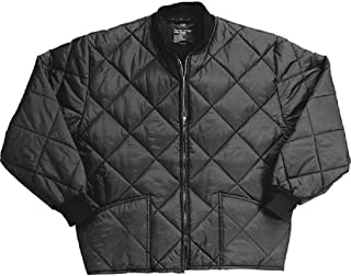 Classic Diamond Jacket Quilted Nylon Flight Military Coat