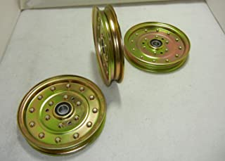 proven part 3 Idler Pulleys Replace 539102610 Exmark 1-633109 116-4667 1164667 633109 78-011