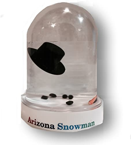 Snowglobe Original Melted Snowman Snow Globe Travel Souvenir Gift (Arizona)