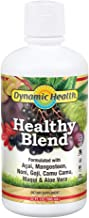 Dynamic Health Healthy Blend | for Healthy Living | Acai, Magosteen, Noni, Goji, Camu Camu, Maqui & Aloe Vera | No Gluten ...