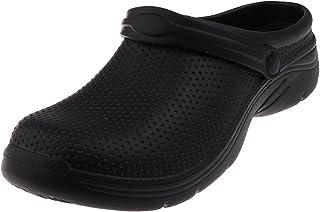 Baosity Mens Womens Garden Kitchen Hospital Chef Nursing Work Clogs Shoes Slip On