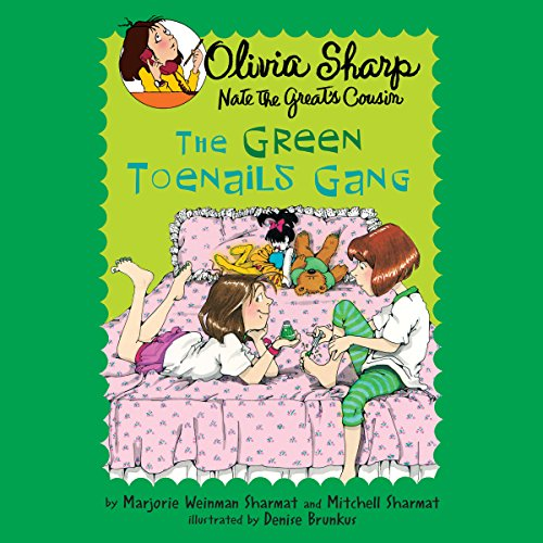 The Green Toenails Gang audiobook cover art