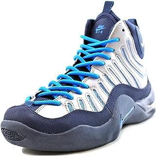 Grade-School Air Bakin' Midnight Navy/Metallic Silver-Photo Blue Sneakers 5