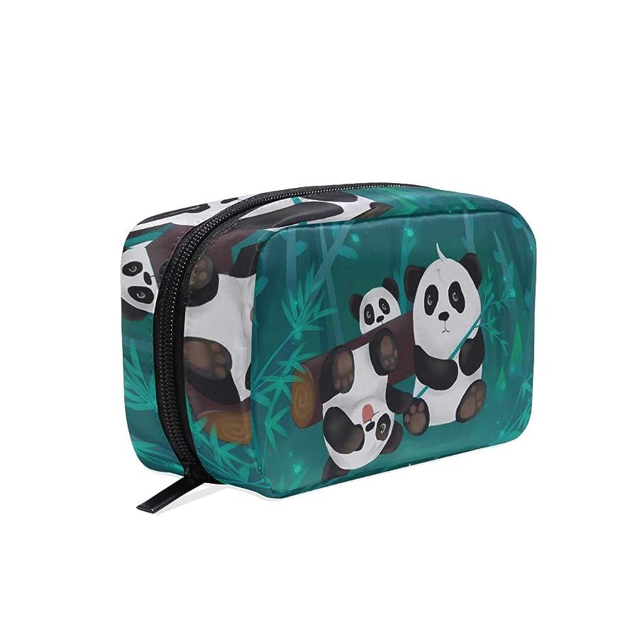 Panda Portable Travel Makeup Cosmetic Bags Organizer Pouch Case Toiletry Bags for Women Men