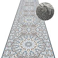 JIAJUAN 廊下敷きカーペット, 滑り止め カット可能 脱落防止 厚さ0.6cm ドアをふさがない 入り口 リビングルーム カーペット、カスタマイズ可能なサイズ (Color : A, Size : 1x2.5m)