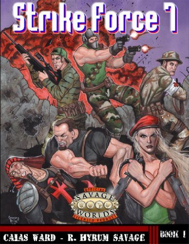 Strike Force 7 (Savage Worlds, OWC8001)