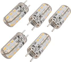 X-DREE 5Pcs GY6.35 DC 12V 24 LEDs 3014SMD LED Silicone Corn Light Bulb Warm White (6ea9584e-a222-11e9-8d7c-4cedfbbbda4e)