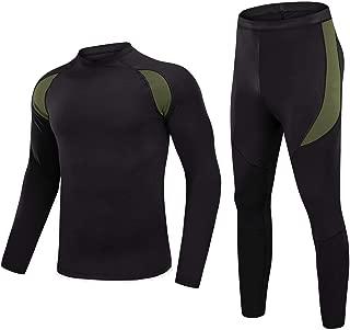 MAGNIVIT Men's Thermal Underwear Sets Winter Gear Base Layer Long Johns with Fleece Lined
