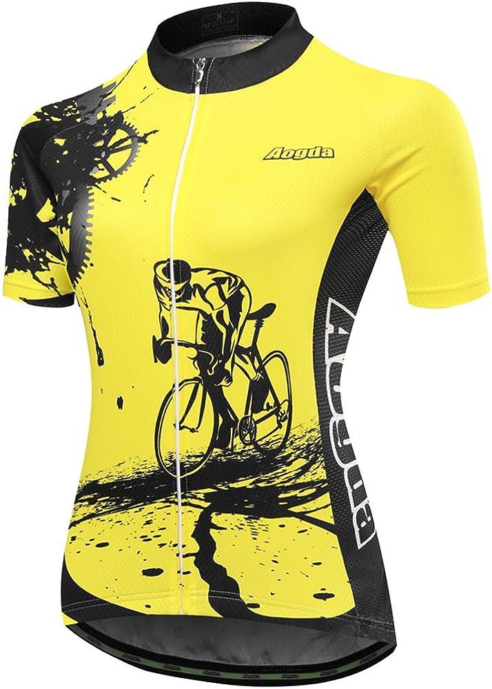 Aogda Biking Top Women Shirts Cycling Team Short Max 40% OFF Cheap Sale 70% OFF Jersey Sle Bike