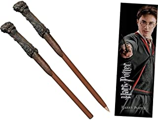 Harry Potter wand pen and bookmark set.