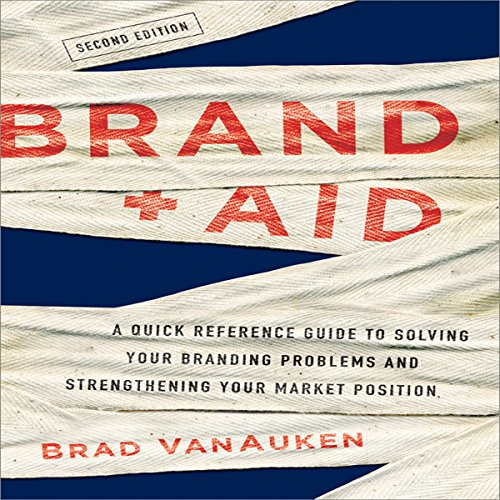 Brand Aid audiobook cover art