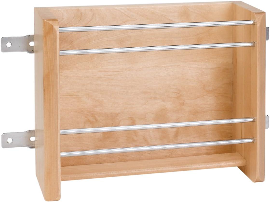 Rev-A-Shelf 15 in Small Door Mount Foil Rack, Natural