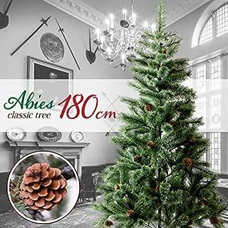 クリスマスツリー 180㎝ おしゃれ 北欧 松ぼっくり付き ドイツトウヒツリー Abies アビエス