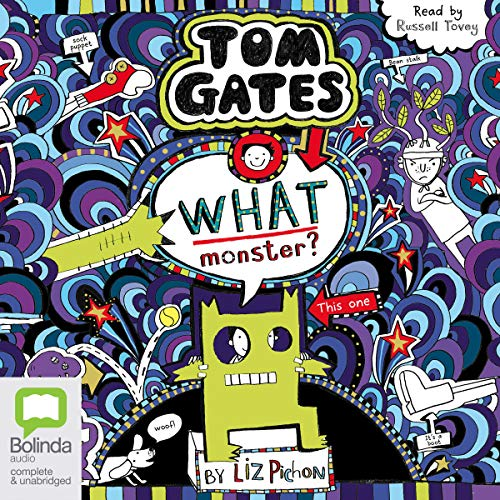 What Monster?     Tom Gates, Book 15              De :                                                                                                                                 Liz Pichon                               Lu par :                                                                                                                                 Russell Tovey                      Durée : 1 h et 51 min     Pas de notations     Global 0,0