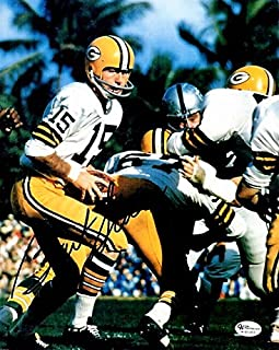 Bart Starr Signed - Autographed Green Bay Packers 8x10 inch Photo - 2x Super Bowl Champion
