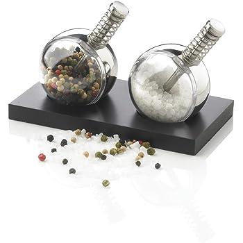 Macina pepe e sale in acciaio inox men-u Menu 4418599 Bottle Grinder piccolo 2 pezzi
