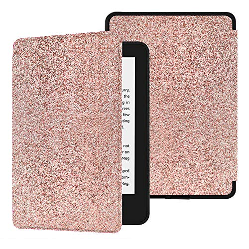 Huasiru Safeshell Case [Never Crack] for All-New Kindle Paperwhite (10th Gen, 2018 Only - Will Not fit Prior Generation Kindle Devices), Shinning Gold
