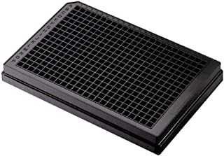 Case of 100 Without Lid Corning 3650 Polystyrene Flat Bottom 96 Well NBS Treated Solid Black Microplate