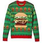 Blizzard Bay Men's Ugly Christmas Sweater Food 10 Festive and humorous patterns that are perfect for the holiday season Made with a soft knit for a comfortable and easy fit