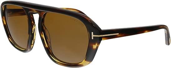 Tom Ford FT0634 52E David-02 Havana Square Sunglasses for Mens
