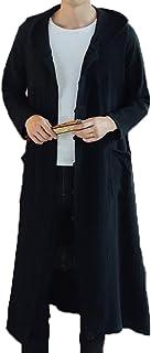 BAJIAN メンズ トレンチコート コート ダッフルコート 秋 冬 ロングコート ゆったり ロング カジュアル 無地 かっこいい 大きいサイズ