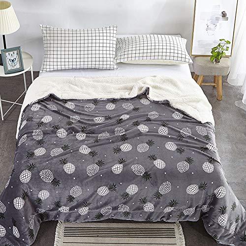 Teddy bear throw doux couverture sherpa lit sofa canapé 100 x 150cm câlin snug
