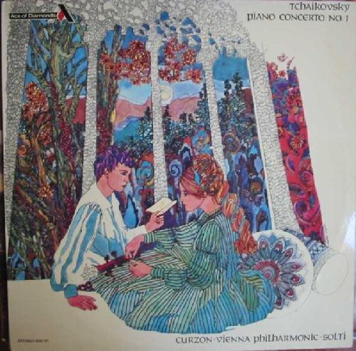 Antiguo Vinilo - Old Vinyl : TCHAIKOVSKY : Concierto para piano Nº1 en Si Bemol Menor Op. 23