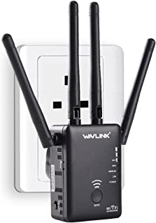 Wavlink AC1200 High Power Dual Band 2.4+5G 1200Mbps 3 in 1 Wireless AP/Router/WiFi Repeater Range Extender Internet Signal...