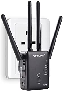 WAVLINK WiFi Range Extender AC1200 Wireless Router/AP Access Point/WiFi Extenders Signal Booster/Range Extender with Dual ...