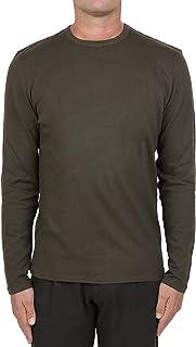 MAJESTIC FILATURES MOD. M506-HTS014 - Camiseta de algodón de cachemira para hombre, verde