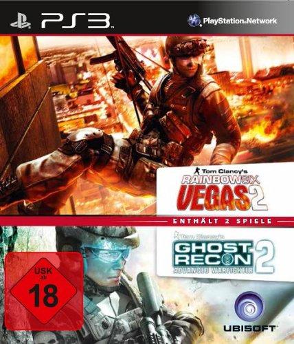 Tom Clancy's Rainbow Six Vegas 2 + Ghost Recon: Advanced Warfighter 2 - [PlayStation 3]