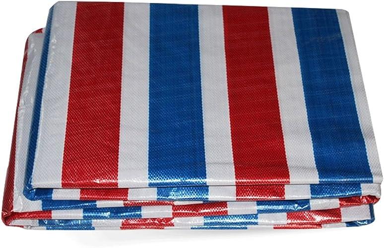 Nouveau Matériel Couleur Tissu Imperméable Tissu de Pluie Tissu Plastique Tissu TriCouleure Pluie Canopy Tissu de Poussière Crème Solaire (100g m2) (Taille   6  8m)
