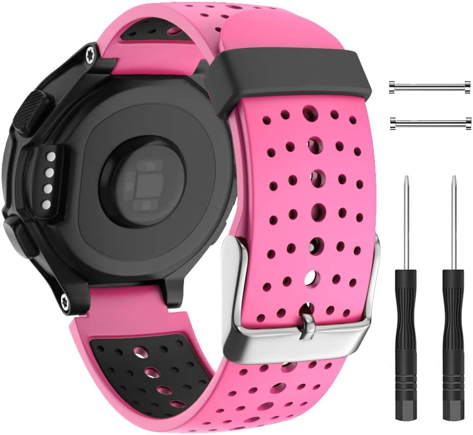 ISABAKE San Diego Mall Soft Silicone Sport Band Directly managed store Watch Bands 235 Forerunner for